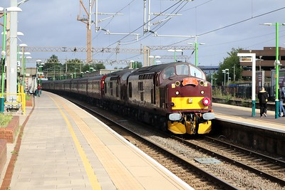 37706_37518 tnt 37669 0907/1z74 Crewe-Portsmouth Harbour Branch Line Society Railtour at Watford Junction