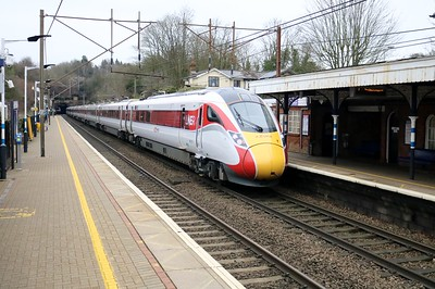 801213 1223/1E06 Edinburgh-Kings Cross