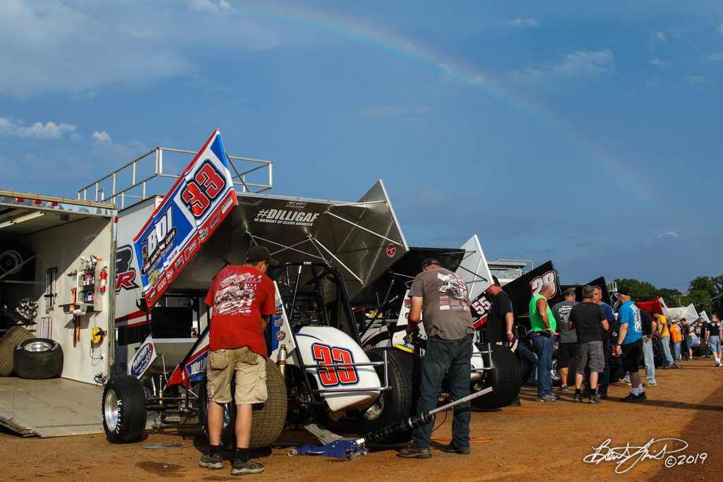 Mitch Smith Memorial - Pennsylvania Sprint Car Speedweek - Williams Grove Speedway - 33 Jared Esh