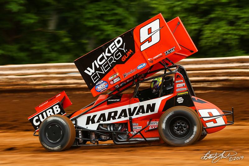 Mitch Smith Memorial - Pennsylvania Sprint Car Speedweek - Williams Grove Speedway - 9 James McFadden