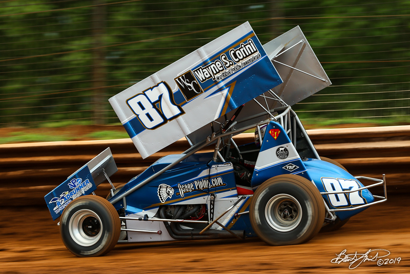 Mitch Smith Memorial - Pennsylvania Sprint Car Speedweek - Williams Grove Speedway - 87 Alan Krimes