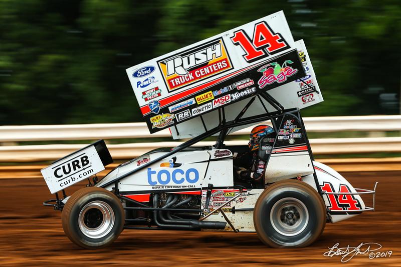 Mitch Smith Memorial - Pennsylvania Sprint Car Speedweek - Williams Grove Speedway - 14 Tony Stewart