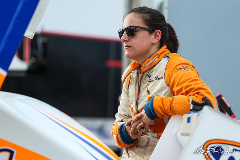 Mitch Smith Memorial - Pennsylvania Sprint Car Speedweek - Williams Grove Speedway - 75 Nicole Bower