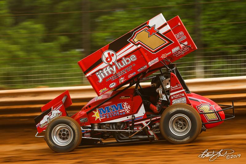 Mitch Smith Memorial - Pennsylvania Sprint Car Speedweek - Williams Grove Speedway - 1X Chad Trout