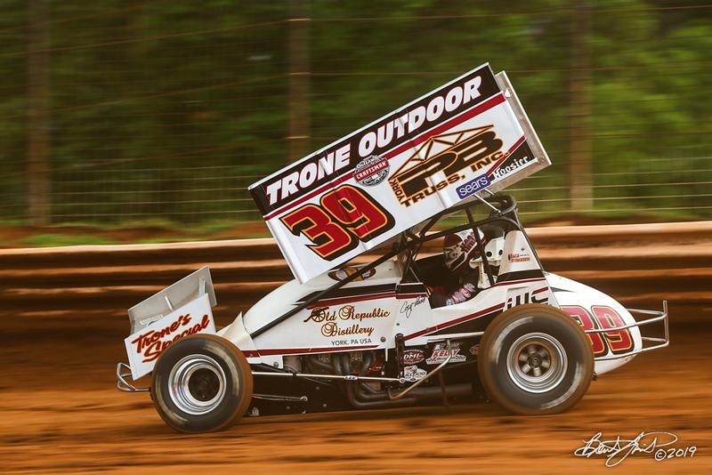 Mitch Smith Memorial - Pennsylvania Sprint Car Speedweek - Williams Grove Speedway - 39 Cory Haas
