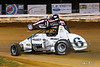 Williams Grove 100 - USAC Silver Crown Champ Car Series - Williams Grove Speedway - 6 Brady Bacon, 91 Justin Grant