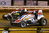 Williams Grove 100 - USAC Silver Crown Champ Car Series - Williams Grove Speedway - 57 Dallas Hewitt, 24 Mike Haggenbottom