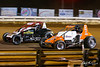 Williams Grove 100 - USAC Silver Crown Champ Car Series - Williams Grove Speedway - 57 Dallas Hewitt, 7 Kyle Robbins