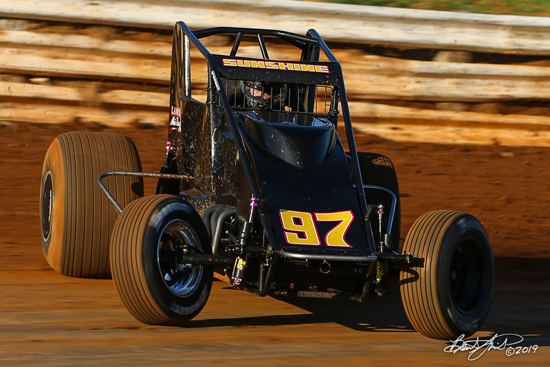 Williams Grove 100 - USAC Silver Crown Champ Car Series - Williams Grove Speedway - 97 Tyler Courtney