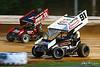 Williams Grove Speedway - 11 TJ Stutts, 91 Kyle Reinhardt