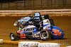 Williams Grove 100 - USAC Silver Crown Champ Car Series - Williams Grove Speedway - 15 Chad Kemenah, 40 David Byrne