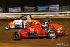 Williams Grove 100 - USAC Silver Crown Champ Car Series - Williams Grove Speedway - 7 Kyle Robbins, 43 John Heydenreich