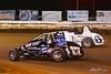 Williams Grove 100 - USAC Silver Crown Champ Car Series - Williams Grove Speedway - 17 Chris Windom, 6 Brady Bacon