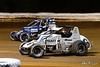 Williams Grove 100 - USAC Silver Crown Champ Car Series - Williams Grove Speedway - 16 Austin Nemire, 6 Brady Bacon
