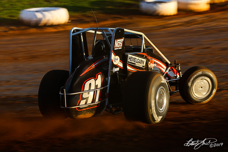 Williams Grove 100 - USAC Silver Crown Champ Car Series - Williams Grove Speedway - 91 Justin Grant