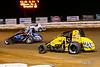 Williams Grove 100 - USAC Silver Crown Champ Car Series - Williams Grove Speedway - 53 Steve Buckwalter, 20 Kody Swanson, 6 Brady Bacon