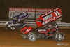 World of Outlaws NOS Energy Drink Sprint Cars - Williams Grove Speedway - 83 Daryn Pittman, 11 TJ Stutts