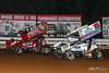 World of Outlaws NOS Energy Drink Sprint Cars - Williams Grove Speedway - 1x Chad Trout, 15 Donny Schatz