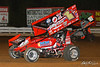 World of Outlaws NOS Energy Drink Sprint Cars - Williams Grove Speedway - 1x Chad Trout, 18 Ian Madsen