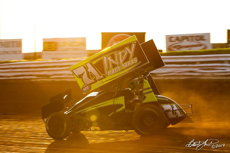 World of Outlaws NOS Energy Drink Sprint Cars - Williams Grove Speedway - 71 Gio Sczelzi