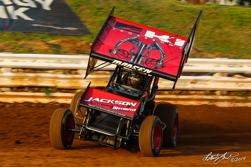 World of Outlaws NOS Energy Drink Sprint Cars - Williams Grove Speedway - 2 Kerry Madsen