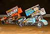 World of Outlaws NOS Energy Drink Sprint Cars - Williams Grove Speedway - 49x Tim Shaffer, 69K Lance Dewease