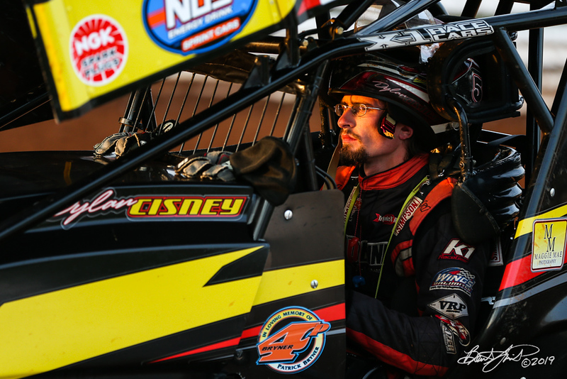 World of Outlaws NOS Energy Drink Sprint Cars - Williams Grove Speedway - 5 Dylan Cisney