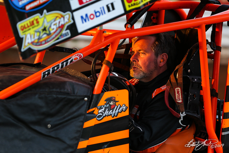 World of Outlaws NOS Energy Drink Sprint Cars - Williams Grove Speedway - 49x Tim Shaffer
