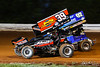 World of Outlaws NOS Energy Drink Sprint Cars - Williams Grove Speedway - 39M Anthony Macri, 07 Gerard McIntyre Jr.