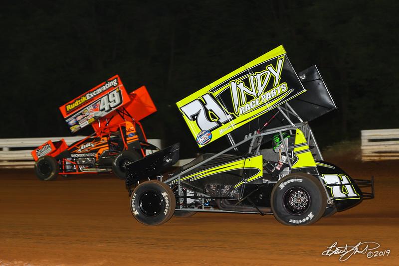 World of Outlaws NOS Energy Drink Sprint Cars - Williams Grove Speedway - 49x Tim Shaffer, 71 Gio Scelzi