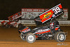 World of Outlaws NOS Energy Drink Sprint Cars - Williams Grove Speedway - 19 Brent Marks, 39M Anthony Macri