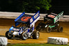 World of Outlaws NOS Energy Drink Sprint Cars - Williams Grove Speedway - 48 Danny Dietrich, 71P Parker Price-Miller