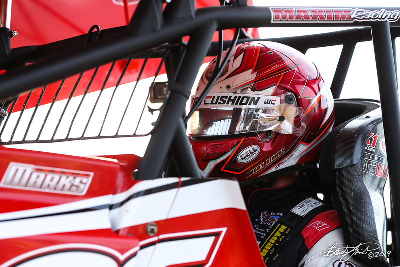 World of Outlaws NOS Energy Drink Sprint Cars - Williams Grove Speedway - 19 Brent Marks