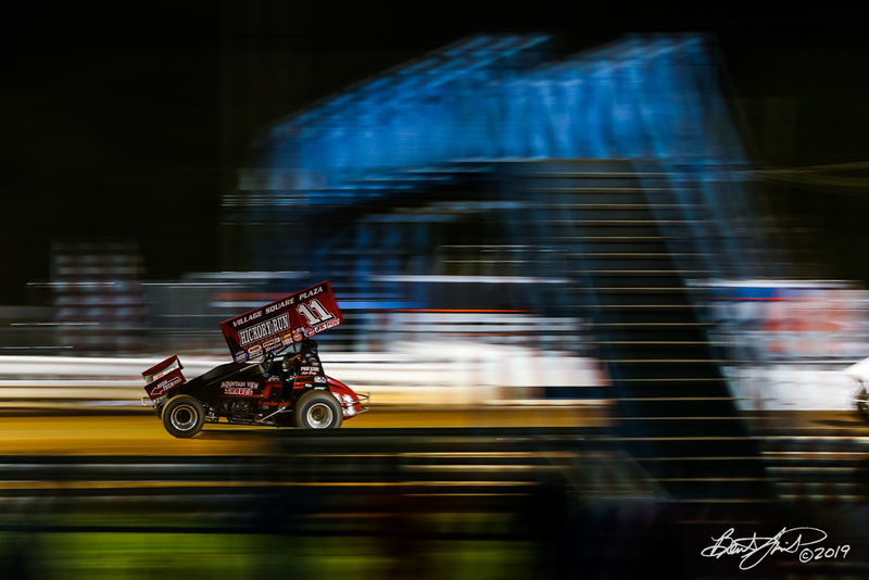 World of Outlaws NOS Energy Drink Sprint Cars - Williams Grove Speedway - 11 TJ Stutts