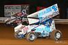 World of Outlaws NOS Energy Drink Sprint Cars - Williams Grove Speedway - 1A Jacob Allen, 1S Logan Schuchart