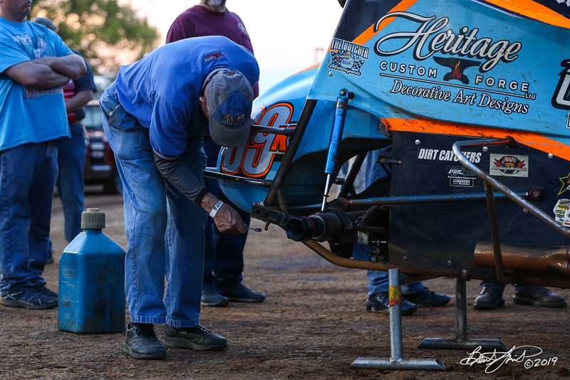 World of Outlaws NOS Energy Drink Sprint Cars - Williams Grove Speedway - 69K Davey Brown