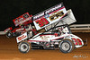 World of Outlaws NOS Energy Drink Sprint Cars - Williams Grove Speedway - 19 Brent Marks, 39 Cory Haas