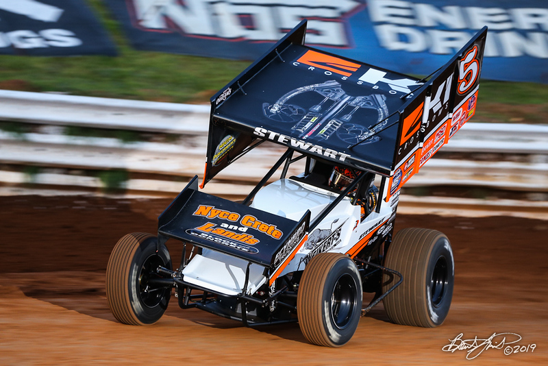 World of Outlaws NOS Energy Drink Sprint Cars - Williams Grove Speedway - 5 Shane Stewart