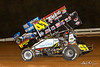 World of Outlaws NOS Energy Drink Sprint Cars - Williams Grove Speedway - 48 Danny Dietrich, 41 David Gravel