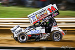 dirt track racing image - Jack Gunn Memorial - Ollie's Bargain Outlet All Star Circuit of Champions - Williams Grove Speedway - 14 Tony Stewart