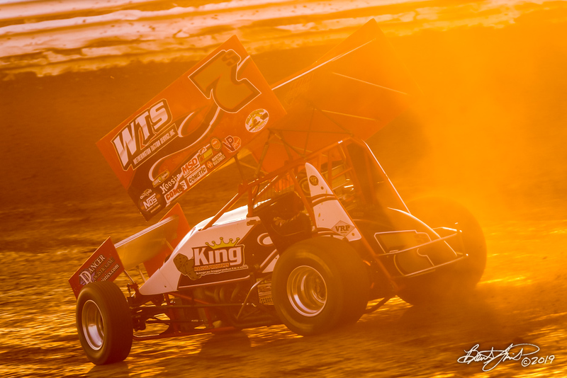 Champion Racing Oil Summer Nationals - World of Outlaws Nos Energy Drink Sprint Cars Series - Williams Grove Speedway - 7S Jason Sides