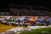 Champion Racing Oil Summer Nationals - World of Outlaws Nos Energy Drink Sprint Cars Series - Williams Grove Speedway - 4 Wide Salute