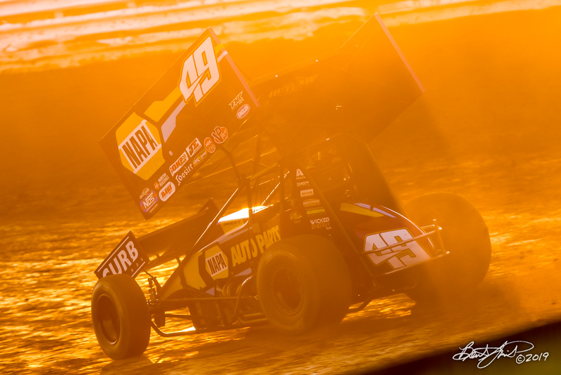 Champion Racing Oil Summer Nationals - World of Outlaws Nos Energy Drink Sprint Cars Series - Williams Grove Speedway - 49 Brad Sweet