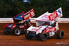 Champion Racing Oil Summer Nationals - World of Outlaws Nos Energy Drink Sprint Cars Series - Williams Grove Speedway - 11 TJ Stutts, 1S Logan Schuchart