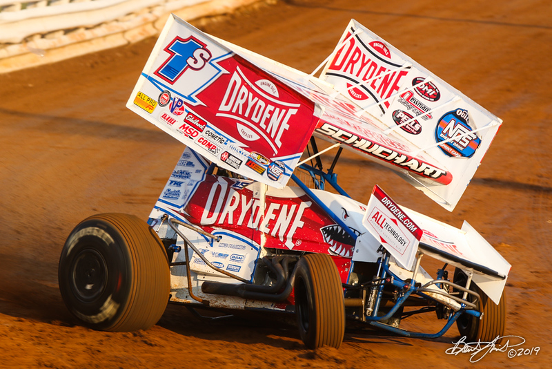 Champion Racing Oil Summer Nationals - World of Outlaws Nos Energy Drink Sprint Cars Series - Williams Grove Speedway - 1S Logan Schuchart