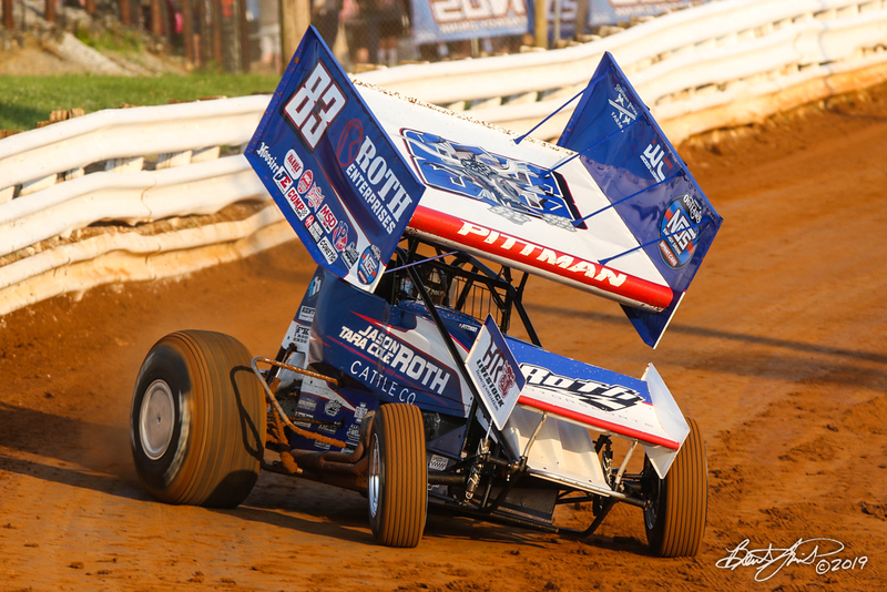 Champion Racing Oil Summer Nationals - World of Outlaws Nos Energy Drink Sprint Cars Series - Williams Grove Speedway - 83 Daryn Pittman