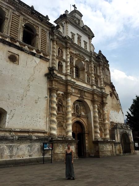 <b>Iglesia de San Francisco</b> <br>Antigua, Guatemala <br>February 23, 2019