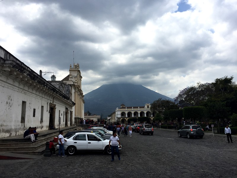<b>Parque Central</b> <br>Antigua, Guatemala <br>February 24, 2019
