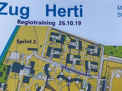 Zentralschweizer Regiotraining Sprints,Herti 26.10.2019