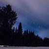 Night sky in January